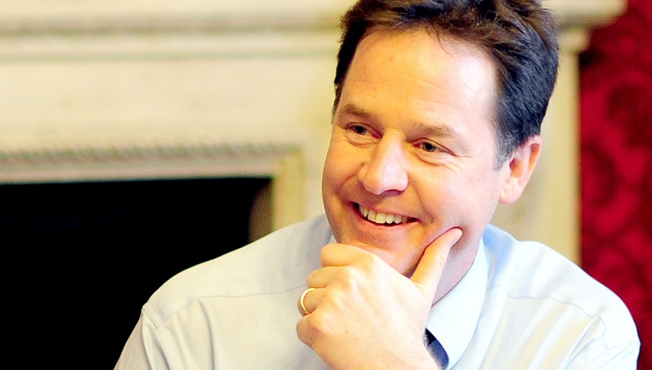 Nick Clegg comes to Gladstone's Library!