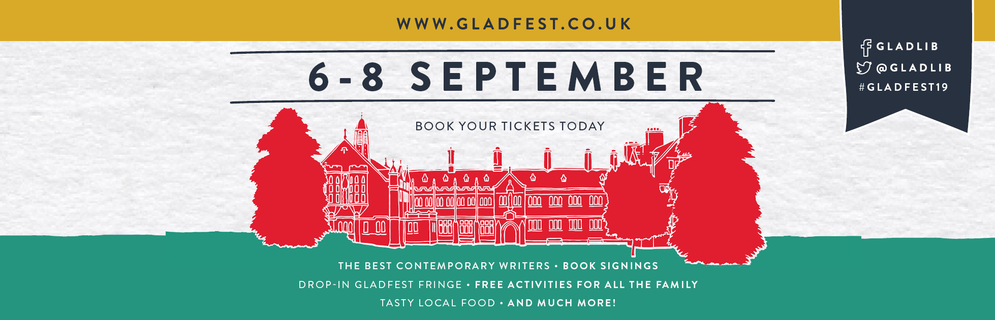 Gladfest: Book your tickets today!