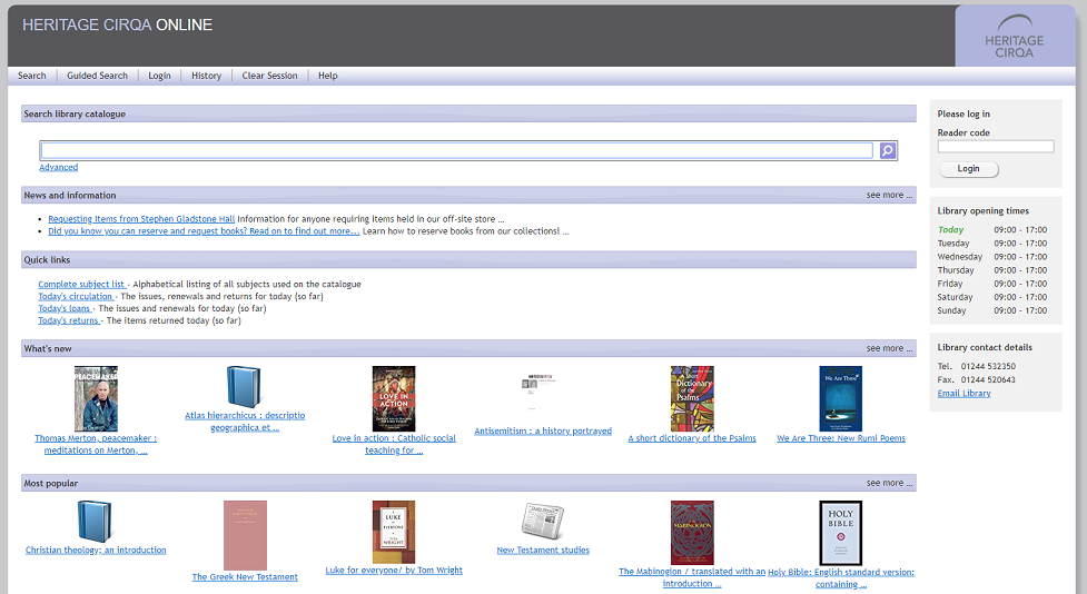 Accessing our online library catalogue – service update (w/c 24th June)