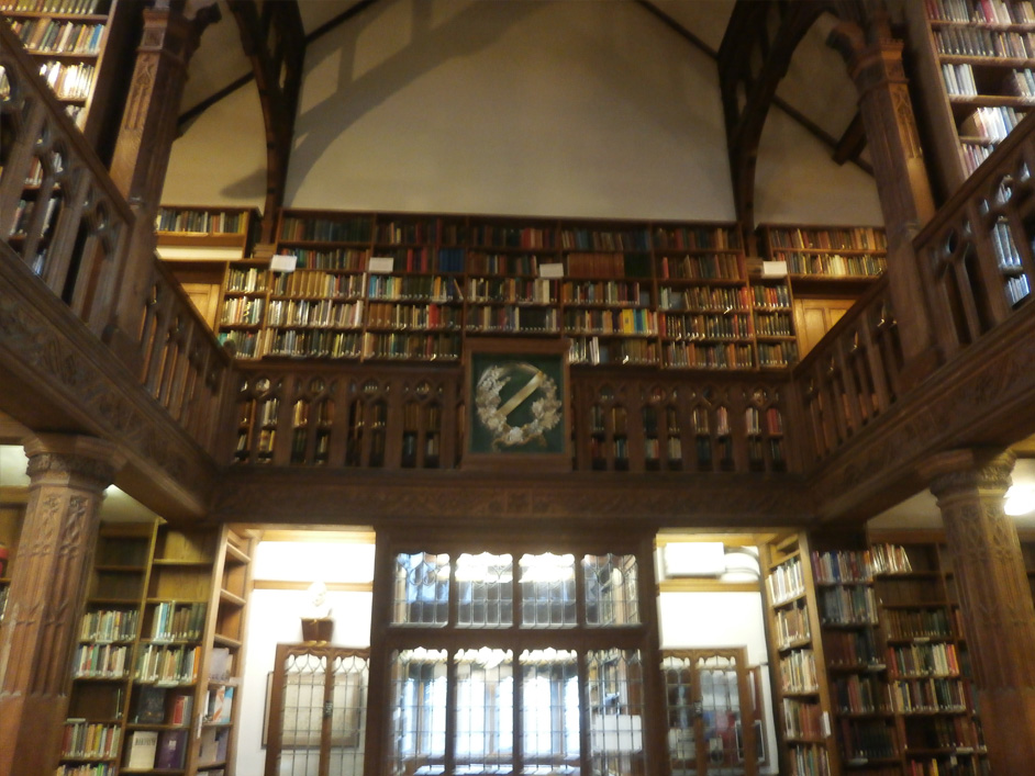 Photograph of the library.